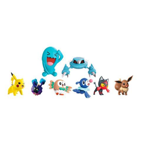 Imagem de Pokemon Conjunto com 8 Bonecos - DTC
