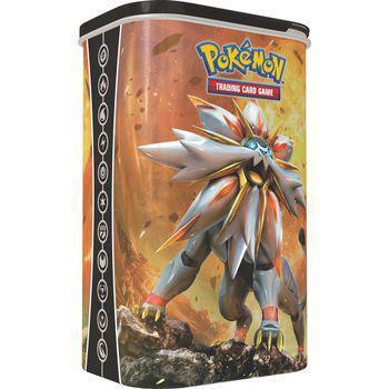 Imagem de Pokemon Lata Porta Cards Lunala Solgaleo