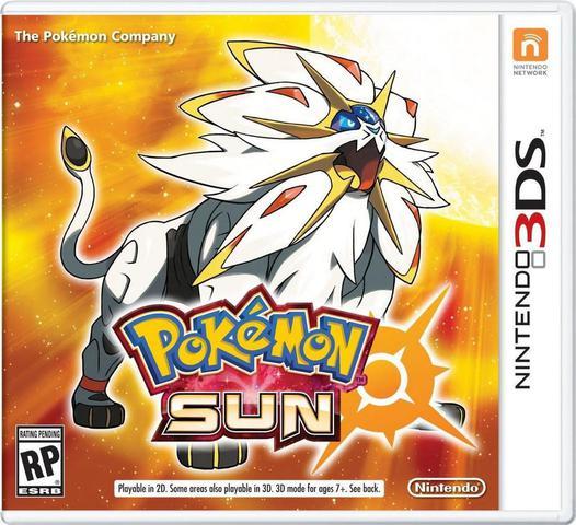 Jogo Pokémon Sun - 3ds - Nintendo