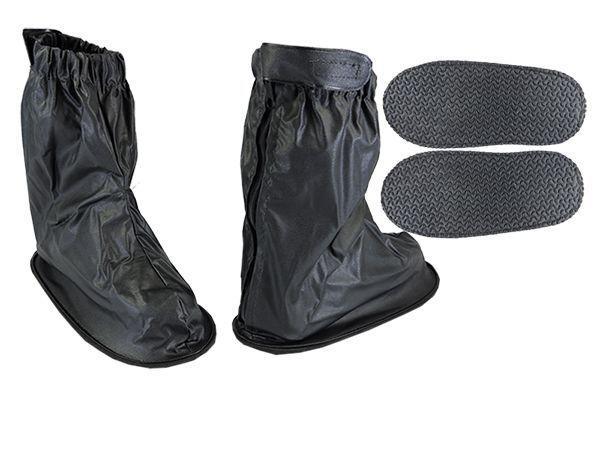 Imagem de Polaina Bota Galocha Protetor Calçado Chuva Moto Motoboy