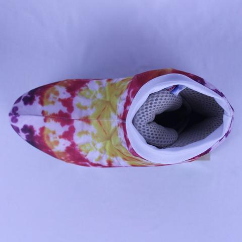 Imagem de Polaina Cobre Patins Coleção Tie Dye Estampa 4 (O PATINS NÃO ACOMPANHA O PRODUTO)