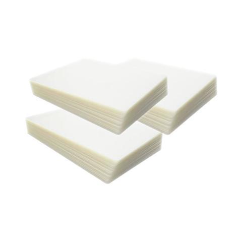 Imagem de Polaseal Kit 600un Plástico para Plastificação Crachá CPF RG