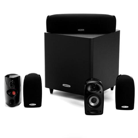 Imagem de Polk Audio TL1600 - Conjunto de caixas acústicas 5.1 com subwoofer ativo Preto