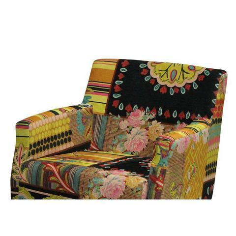 Imagem de Poltrona Decorativa Pés Madeira Charlote A-131 - Domi