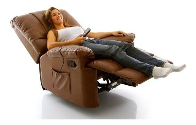 Imagem de Poltrona Massageadora do Papai Relax - Marrom