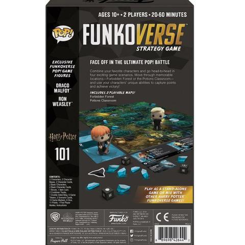 Imagem de Pop funko verse harry potter ron e draco strategy game