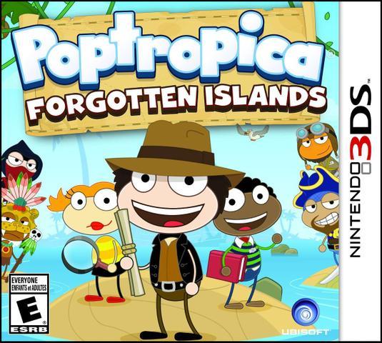 Jogo Poptropica Forgotten Islands - 3ds - Ubisoft