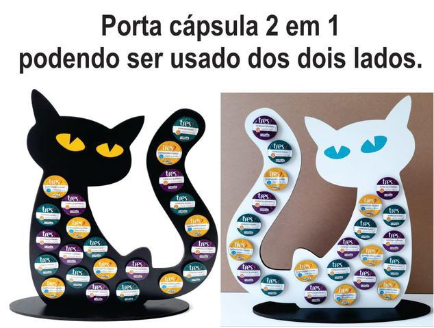 Imagem de Porta capsula de café GATO Três Corações