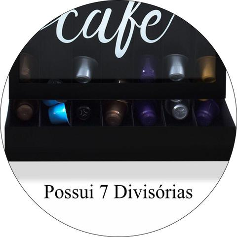 Imagem de Porta Cápsulas de Café Modelo Nespresso Uma Dose de Amor