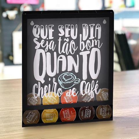 Imagem de Porta Cápsulas Dolce Gusto Três Corações Cheiro de Café
