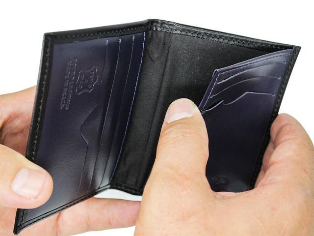 Imagem de Porta cartão de crédito Carteira Pequena couro CNH