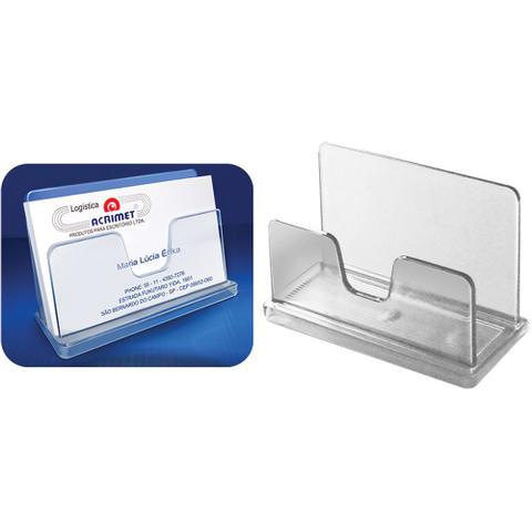 Imagem de Porta Cartão de Visita Cristal Acrimet