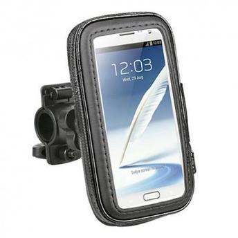 Imagem de Porta Celular Impermeável Para Bicicleta Moto Com Suporte