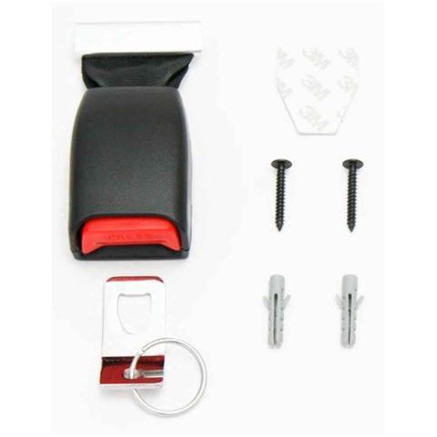 Imagem de Porta Chaves Cinto De Segurança Preto