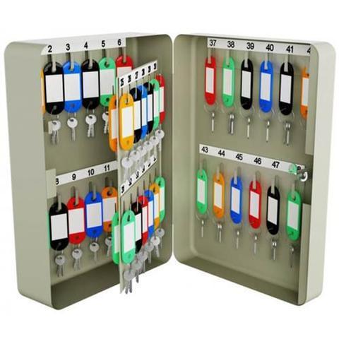 Imagem de Porta chaves claviculario menno ts48 com capacidade de 60 chaves