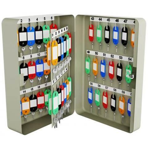 Imagem de Porta chaves claviculario menno ts60 com capacidade de 60 chaves