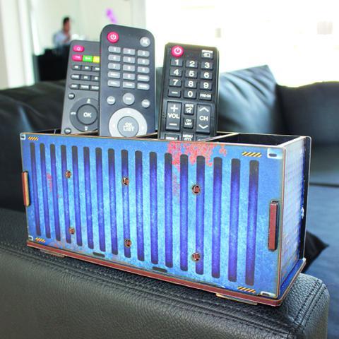 Imagem de Porta Controle - Container Azul - cod. 5005