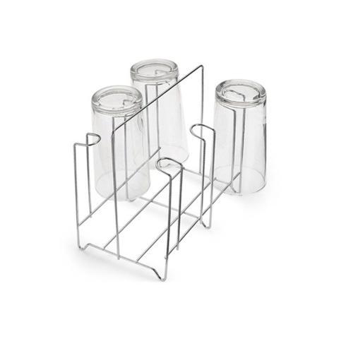 Imagem de Porta Copos em Aço para 6 Unidades Cromado