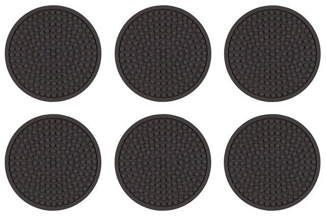 Imagem de Porta Copos Liso Sem Logo Emborrachado 6 Unidades