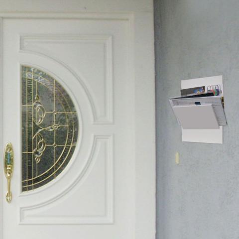 Imagem de Porta-Correspondências 20X25 Branco Kapos