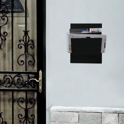 Imagem de Porta-Correspondências 20X25 Preto Kapos