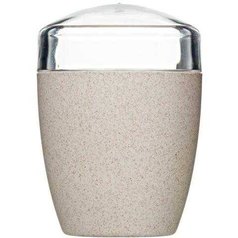Imagem de Porta Cotonete Porta Algodão Para Banheiro Organizador Eco Marfim