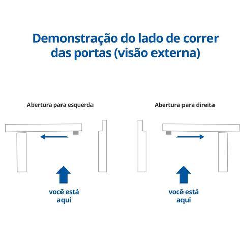 Imagem de Porta de Correr Aço 2 Folhas Minas Sul Primer 215cm x 160cm MGM Cinza