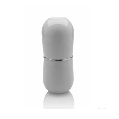 Imagem de Porta escova de dente para bancada branco Cromo Belly OU