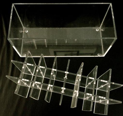 Imagem de Porta Gloss, Batom Líquido, Pincel de Acrilico Organizador 58