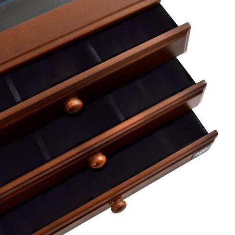 Imagem de Porta Jóias em MDF com 3 Gavetas e 24 Nichos