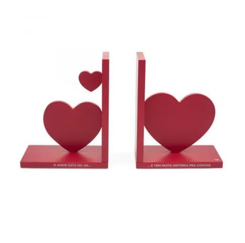 Imagem de Porta Livros Coracoes O Amor Está no Ar