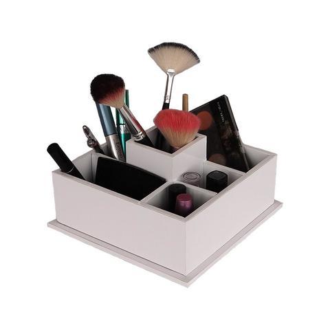 Imagem de Porta Maquiagem Pequena Branca