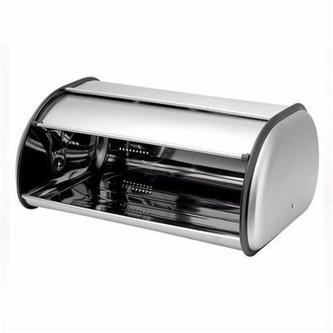 Imagem de Porta Pão Armazenador Em Aço Inox