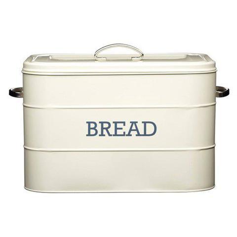 Imagem de Porta pão com tampa creme kitchen craft