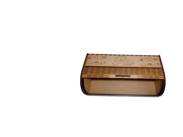 Imagem de Porta Pão Em Mdf 3mm (montado)
