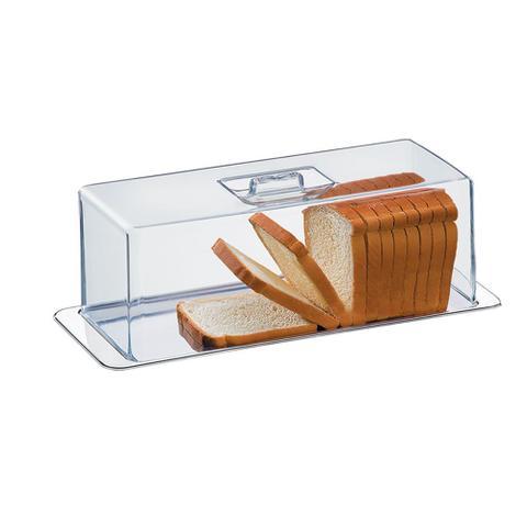 Imagem de Porta pão torta fria rocambole 2 pecas atina brinox 1419/100