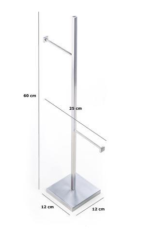 Imagem de Porta Papel Higiênico De Chão Para Banheiro
