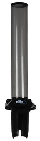 Imagem de Porta Poupa Copo Dispenser Descartaveis Multicopo Água 200ml Preto