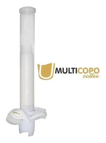 Imagem de Porta Poupa Copo Dispenser Descartaveis Multicopo Café 50ml