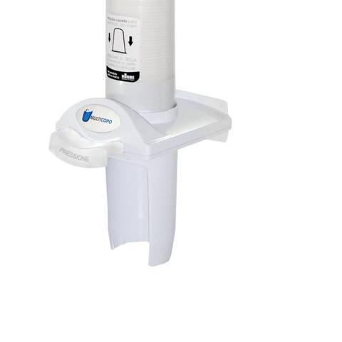 Imagem de Porta Poupa Copos Água Dispenser Botão Automático Nobre