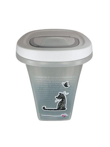 Imagem de Porta Ração Para Gato Cachorro Moderna Pets Love Premium 6 L