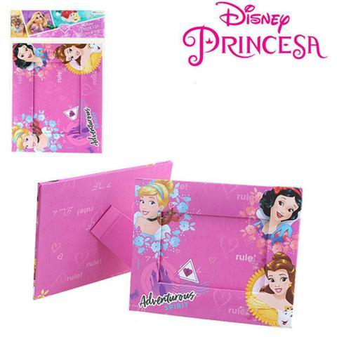 Imagem de Porta retrato 10x15 com moldura de papelão horizontal - princesas disney