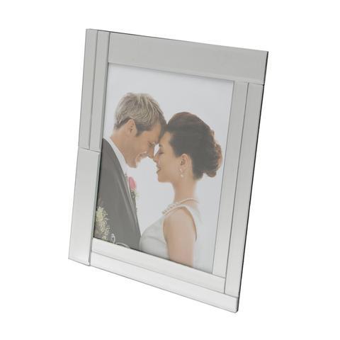Imagem de Porta Retrato De Vidro Espelhado Para Foto 20x25cm Prestige