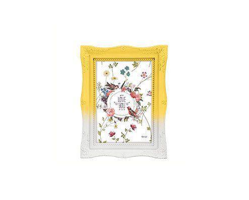 Imagem de Porta-retrato degradê amarelo candy - 10x15cm