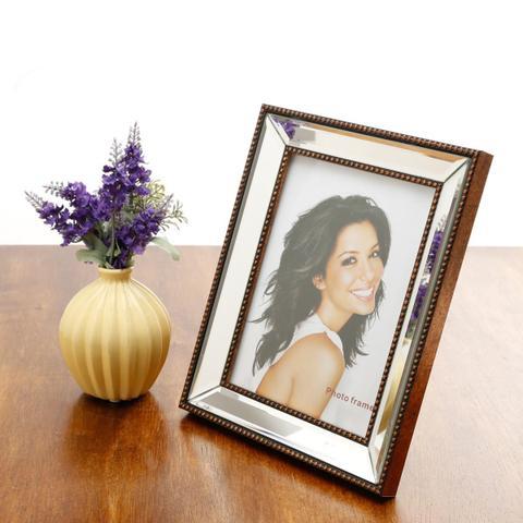 Imagem de Porta Retrato Para Foto 13X18Cm Prestige Espelhado Top