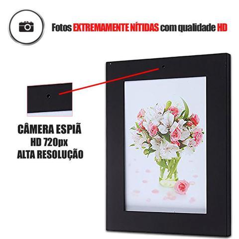 Imagem de Porta retrato Para gravação de Videos HD, Discretos com sensor de movimento