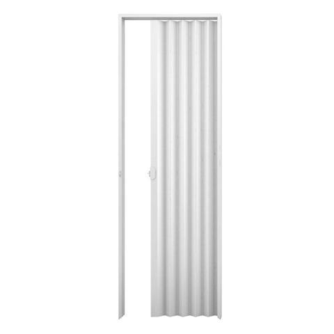 Imagem de Porta Sanfonada Plasbil Branca 130cm x 210cm