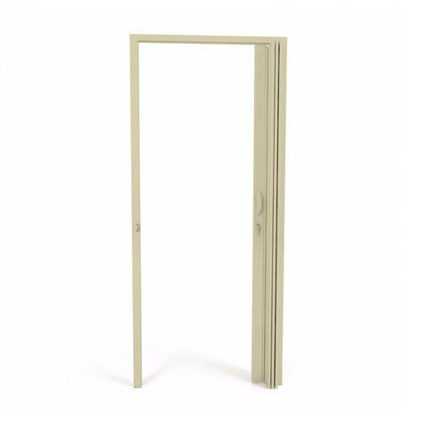 Imagem de Porta Sanfonada PVC Polifort 210cmx100cm Bege