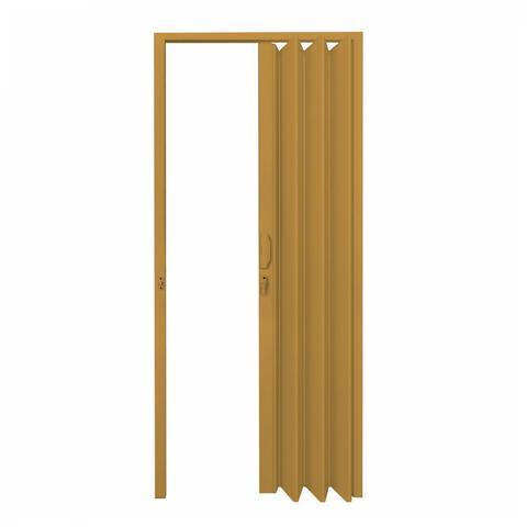Imagem de Porta Sanfonada PVC Polifort 210cmx70cm Cerejeira
