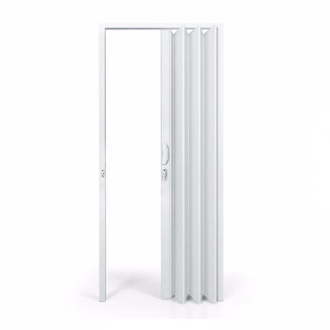 Imagem de Porta Sanfonada PVC Polifort 210cmx80cm Branco Neve